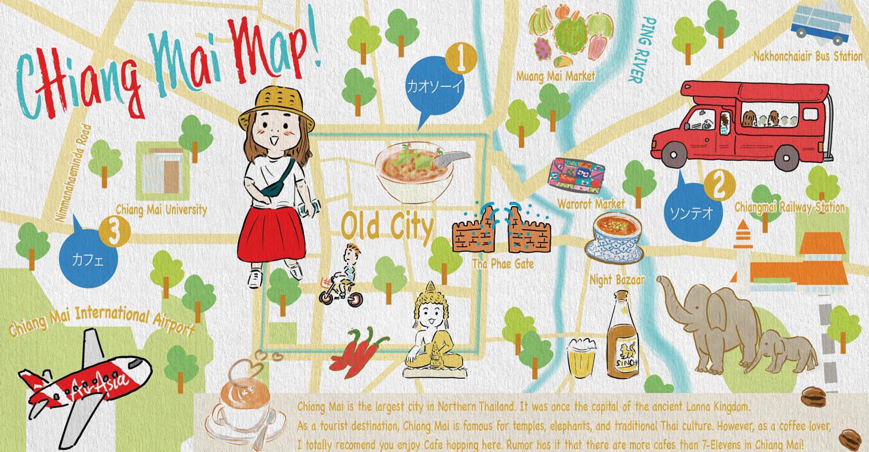 イラストマップの作り方   Kenichiro Tanaka/タナカケンイチロウ